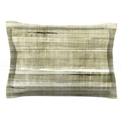 Simplicity by CarolLynn Tice Featherweight Pillow Sham Size: Queen, Fabric: Woven Polyester
