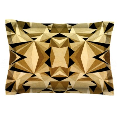 Abstraction by Nika Martinez Pillow Sham Size: Queen, Fabric: Woven Polyester