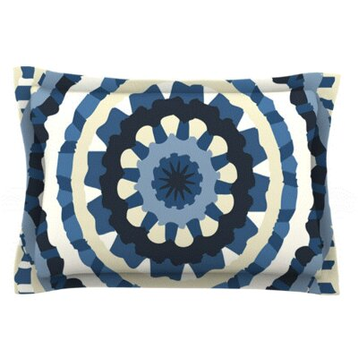 Ribbon Mandala by Laura Nicholson Featherweight Pillow Sham Size: King, Fabric: Woven Polyester
