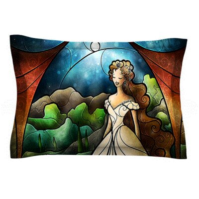 Think Of Me by Mandie Manzano Featherweight Pillow Sham Size: King, Fabric: Woven Polyester