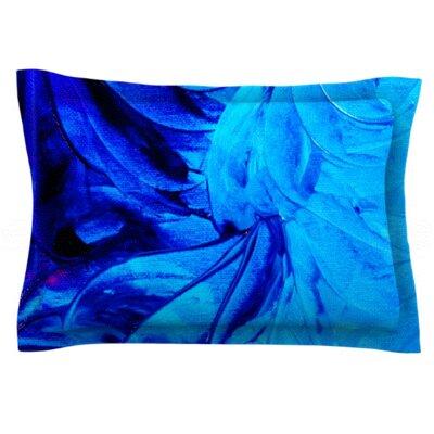 Petal Pinwheels by Ebi Emporium Featherweight Pillow Sham Size: King, Fabric: Cotton