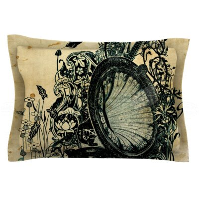 Frederic Levy-Hadida Sound of Nature Featherweight Sham Size: Queen, Fabric: Woven Polyester