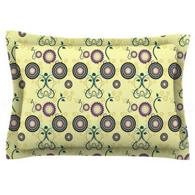 Spring Florals by Mydeas Featherweight Pillow Sham Size: King, Fabric: Woven Polyester