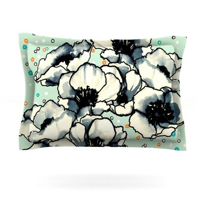 Anenome Fizz by Sonal Nathwani Featherweight Pillow Sham Size: King, Fabric: Cotton