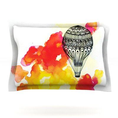 Come Away With Me by Sonal Nathwani Featherweight Pillow Sham Size: King, Fabric: Cotton