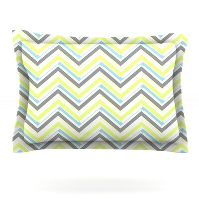 Ideal by CarolLynn Tice Featherweight Pillow Sham Size: King, Fabric: Cotton