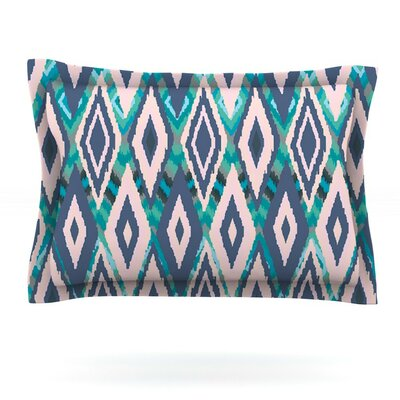 Tribal Ikat by Nika Martinez Pillow Sham Size: Queen, Fabric: Cotton
