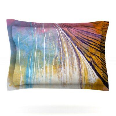 Sway by Steve Dix Woven Pillow Sham Size: Queen