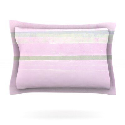 Yogurt by CarolLynn Tice Featherweight Pillow Sham Size: Queen, Fabric: Cotton