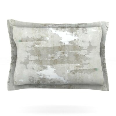 Effortless by CarolLynn Tice Featherweight Pillow Sham Size: Queen, Fabric: Cotton