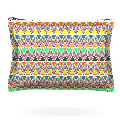 Pattern Play by Nandita Singh Featherweight Pillow Sham Size: Queen, Fabric: Cotton