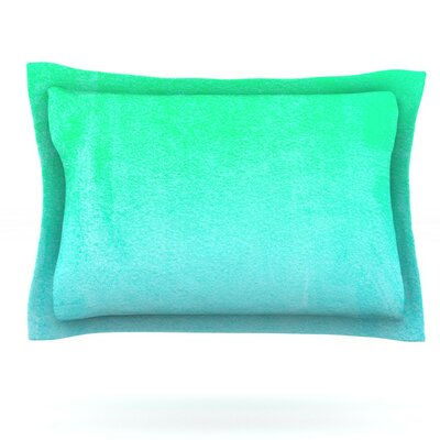 Blue Hawaiian by Monika Strigel Featherweight Pillow Sham Size: King, Fabric: Cotton