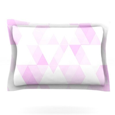 Aspire by CarolLynn Tice Featherweight Pillow Sham Size: King, Fabric: Cotton
