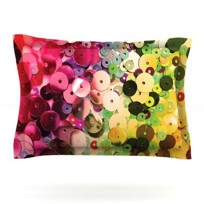 Spots by Louise Machado Featherweight Pillow Sham Size: King, Fabric: Cotton