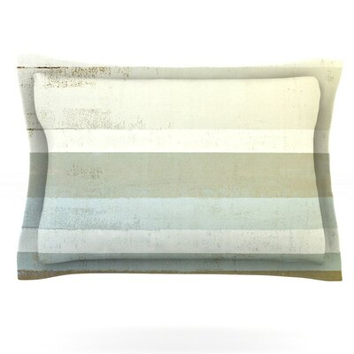 Invent by CarolLynn Tice Featherweight Pillow Sham Size: King, Fabric: Cotton