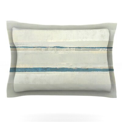 Input by CarolLynn Tice Featherweight Pillow Sham Size: King, Fabric: Cotton