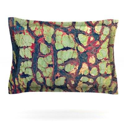 Pretty Patina by Robin Dickinson Featherweight Pillow Sham Size: Queen, Fabric: Cotton