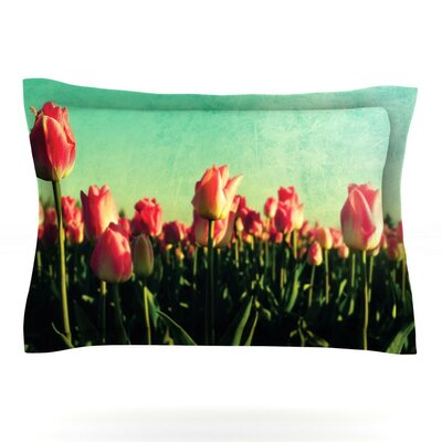 How Does Your Garden Grow by Robin Dickinson Featherweight Pillow Sham Size: Queen
