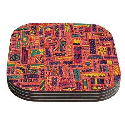 Squares by Akwaflorell Coaster EM1011ACR01
