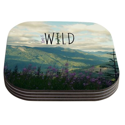 Keep It Wild by Robin Dickinson Coaster
