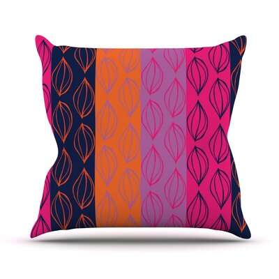 Tropical Seeds by Anneline Sophia Throw Pillow Size: 26 H x 26 W x 1 D