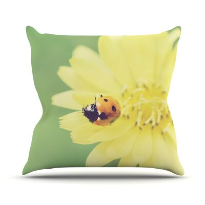 Little Lady Throw Pillow Size: 18 H x 18 W x 1 D