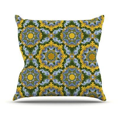 Aztec Boho by Anneline Sophia Throw Pillow Size: 16 H x 16 W x 1 D