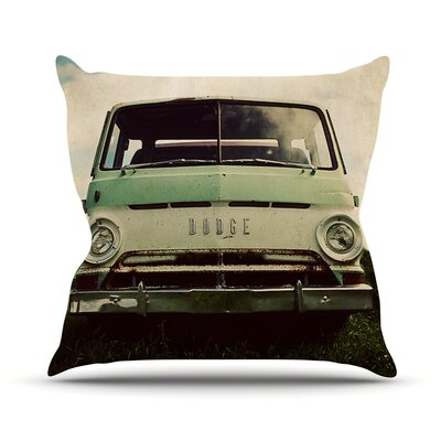 Dodge by Angie Turner Car Throw Pillow Size: 16 H x 16 W x 1 D