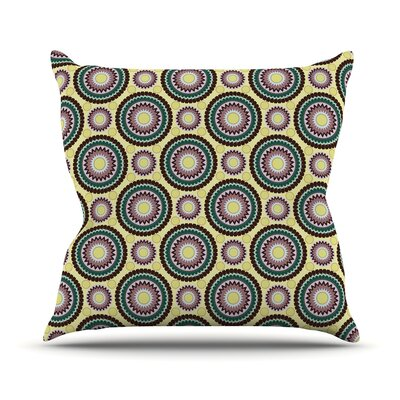 Patio Decor by Mydeas Throw Pillow Size: 16'' H x 16'' W x 1