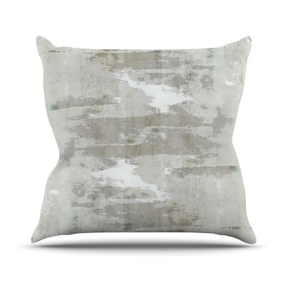 Effortless by CarolLynn Tice Neutral Throw Pillow Size: 20 H x 20 W x 1 D