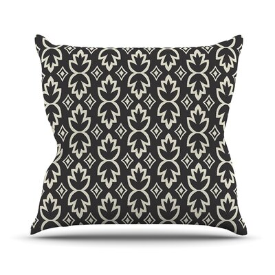 Bohemia by Amanda Lane Dark Pattern Throw Pillow Size: 26 H x 26 W x 1 D