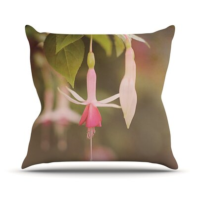 Angie Turner Flower Throw Pillow Size: 26 H x 26 W x 1 D