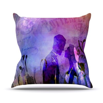Couple In Love by alyZen Moonshadow Throw Pillow Size: 16 H x 16 W x 1 D