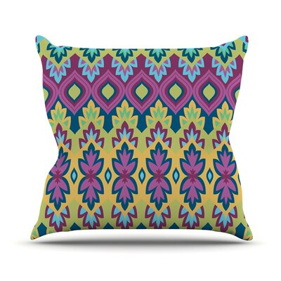 Boho Chic by Amanda Lane Throw Pillow Size: 16 H x 16 W x 1 D