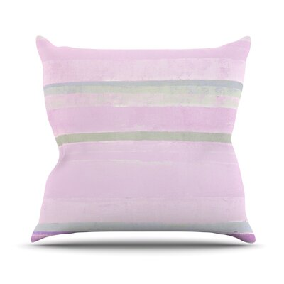 Yogurt by CarolLynn Tice Throw Pillow Size: 18 H x 18 W x 1 D