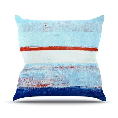Stripes by CarolLynn Tice Throw Pillow Size: 16 H x 16 W x 1 D
