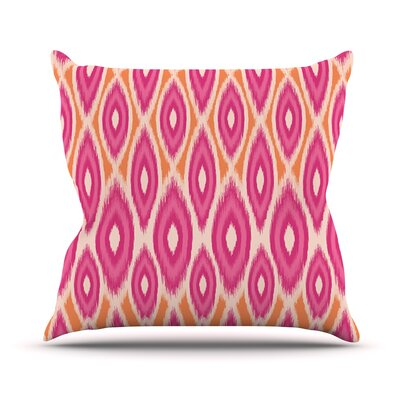 Moroccan by Amanda Lane Throw Pillow Size: 16 H x 16 W x 1 D