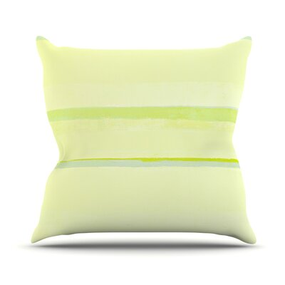 Lemons by CarolLynn Tice Throw Pillow Size: 26 H x 26 W x 1 D