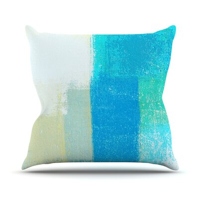 Shallow by CarolLynn Tice Cool Throw Pillow Size: 16'' H x 16'' W x 1
