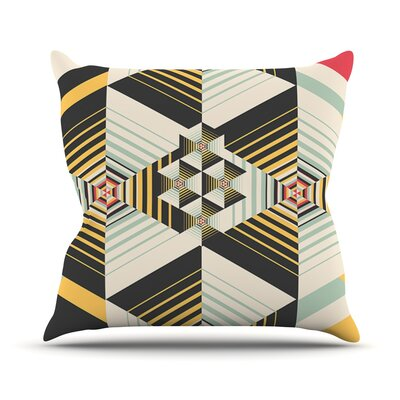 La Plus by Danny Ivan Throw Pillow Size: 18 H x 18 W x 1 D