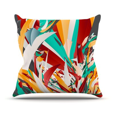 Lafaye by Danny Ivan Throw Pillow Size: 18 H x 18 W x 1 D