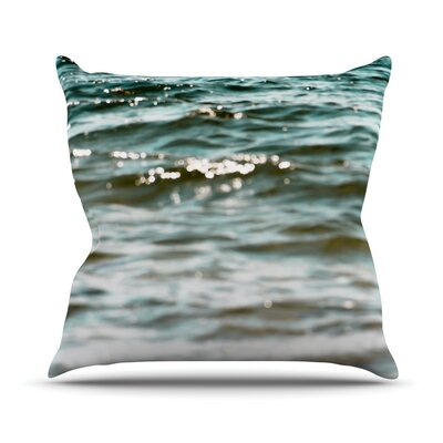 Debbra Obertanec Water Throw Pillow Size: 18 H x 18 W x 1 D