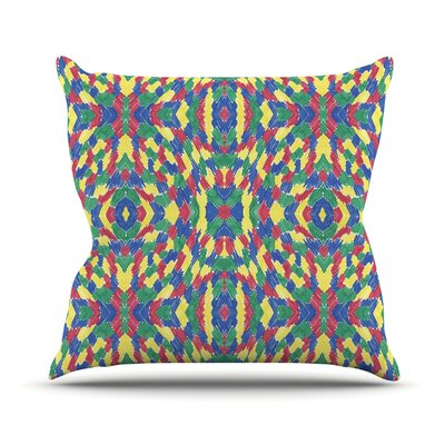 Energy Abstract by Empire Ruhl Throw Pillow Size: 20 H x 20 W x 1 D