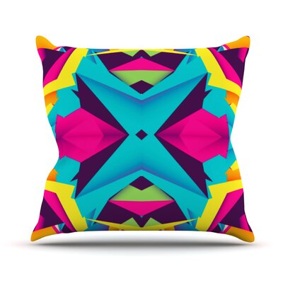 The Youth by Danny Ivan Throw Pillow Size: 18 H x 18 W x 1 D