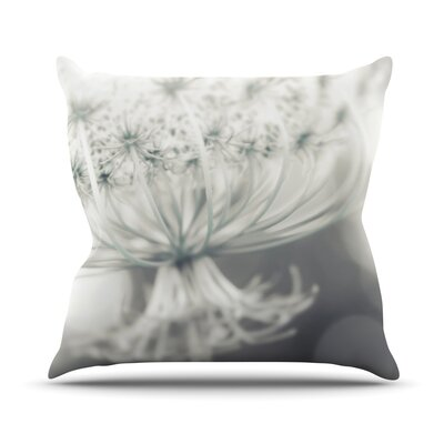 Queen by Debbra Obertanec Flower Throw Pillow Size: 16 H x 16 W x 1 D