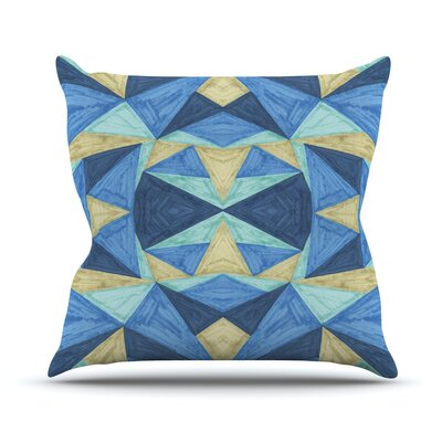The Blues by Empire Ruhl Throw Pillow Size: 26 H x 26 W x 1 D