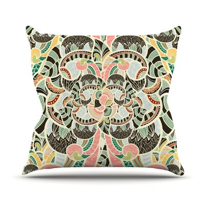 Too Much by Danny Ivan Throw Pillow Size: 16 H x 16 W x 1 D