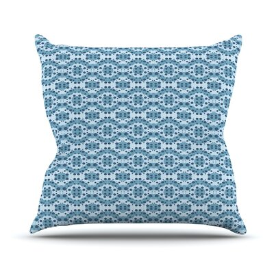 Circle Abstract by Empire Ruhl Geometric Throw Pillow Size: 16 H x 16 W x 1 D