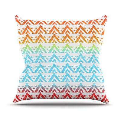 Antilops Pattern by Frederic Levy-Hadida Chevron Throw Pillow Size: 16 H x 16 W x 1 D