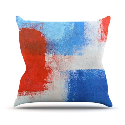 The Colors by CarolLynn Tice Throw Pillow Size: 16 H x 16 W x 1 D